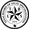 Seal of the Texas Board of Legal Specialization